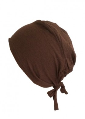Bonnet sous hijab Marron